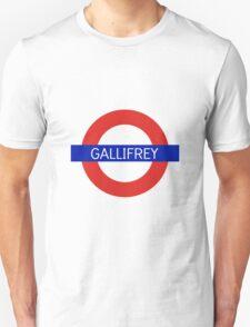 Gallifrey Station- Doctor Who Unisex T-Shirt