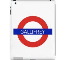 Gallifrey Station- Doctor Who iPad Case/Skin