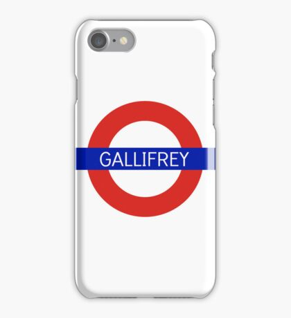 Gallifrey Station- Doctor Who iPhone Case/Skin