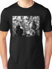 Star Wars VII. BB8 siluette bokeh Unisex T-Shirt