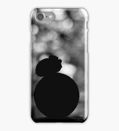 Star Wars VII. BB8 siluette bokeh iPhone Case/Skin