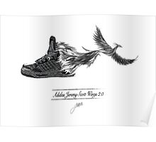 adidas wings Poster