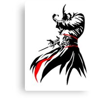 Altair-Assassins Creed Canvas Print