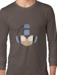 Megaman's Head Long Sleeve T-Shirt