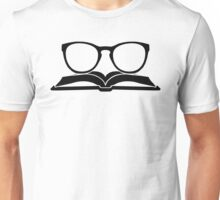 Book Nerd 3 (Black) Unisex T-Shirt