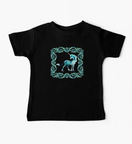 Unicorn Framed Baby Tee