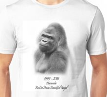 Rest in Peace, Harambe Unisex T-Shirt