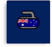 Australia Rocks! - Curling Rockers Canvas Print