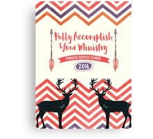 Fully Accomplish Your Ministry (Rustic) Canvas Print