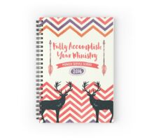Fully Accomplish Your Ministry (Rustic) Spiral Notebook