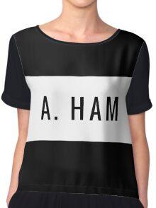 Team Hamilton- A. Ham Chiffon Top