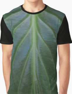 Tropical leaf macro close up Graphic T-Shirt