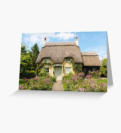Thatched Cottage Greeting Card