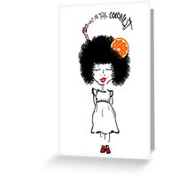 Crazy Coco Quirky Greeting Card Greeting Card