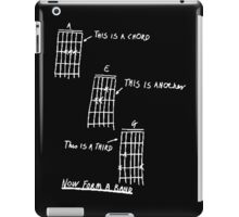 How To Play Guitar iPad Case/Skin