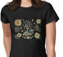 Steampunk Taxidermy Womens Fitted T-Shirt