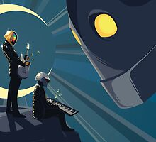 Robot Friends by frogsagog