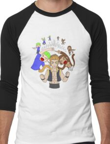 Erin Fusion Men's Baseball ¾ T-Shirt