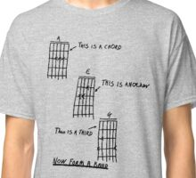 How To Play Guitar - Black Classic T-Shirt