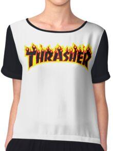 THRASHER Chiffon Top