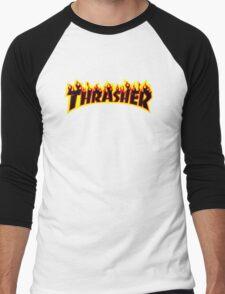 THRASHER Men's Baseball ¾ T-Shirt