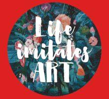 LIFE IMITATES ART One Piece - Short Sleeve