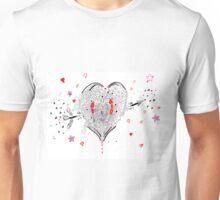 heart overflowing Unisex T-Shirt