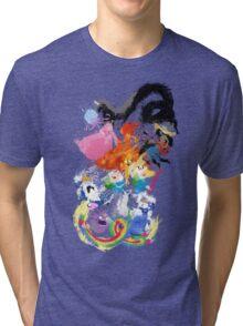 Battle Time!! - Compilation Tri-blend T-Shirt