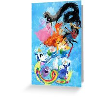 Battle Time!! - Compilation Greeting Card