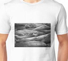 Elephant Seals III BW Unisex T-Shirt