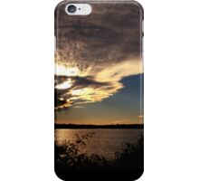 Dramatic Sky over The Mighty Clarence River iPhone Case/Skin