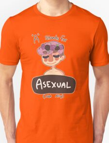 A is for Asexual Unisex T-Shirt