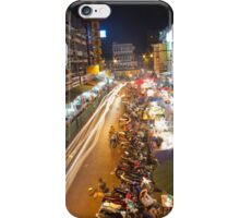 Busy Streets of Chiang Mai 1 iPhone Case/Skin