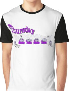 Days of the week - Thursday at the office Graphic T-Shirt