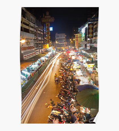 Busy Streets of Chiang Mai 1 Poster
