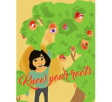 Know Your Roots Photographic Print