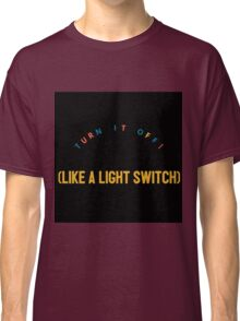 Light Switch- Book Of Mormon Classic T-Shirt