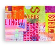 Words II Canvas Print