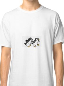 Penguins Walking Classic T-Shirt