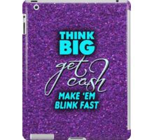 Make 'Em Blink Fast iPad Case/Skin