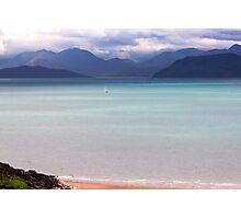Isle of Skye from Applecross Peninsula Photographic Print