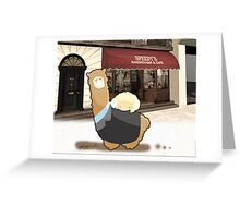Johnlock - Llamalock and Ramjohn 221B Greeting Card