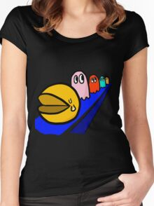 pac-man Women's Fitted Scoop T-Shirt