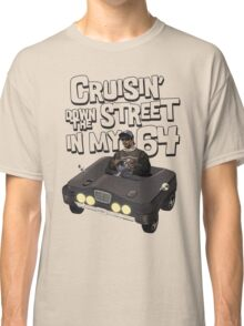 Cruisin Down The Street in my 64 Classic T-Shirt
