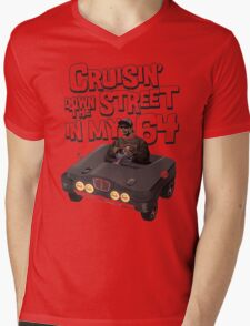 Cruisin Down The Street in my 64 Mens V-Neck T-Shirt