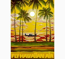 """HAWAIIAN AIR"" Travel and Tourism Print Unisex T-Shirt"