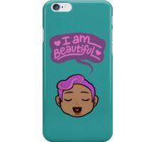 I AM BEAUTIFUL #10 iPhone Case/Skin