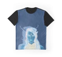 Psychedelic Three eyed Faun Graphic T-Shirt
