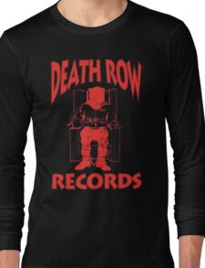 Deathrow Records Long Sleeve T-Shirt
