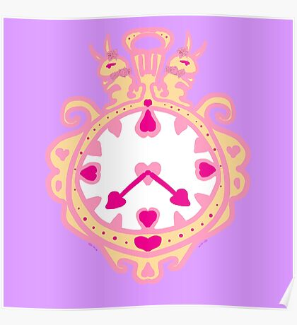 LIKE CLOCK WORK(GOLD AND PURPLE) Poster